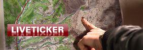 Liveticker zum Flugzeugabsturz: +++ 1:25 Minister überfliegen den Unfallort +++