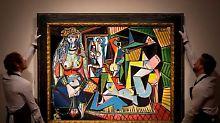 Zwei Rekorde bei Christie's-Auktion: Picasso malte teuerstes Gemälde der Welt