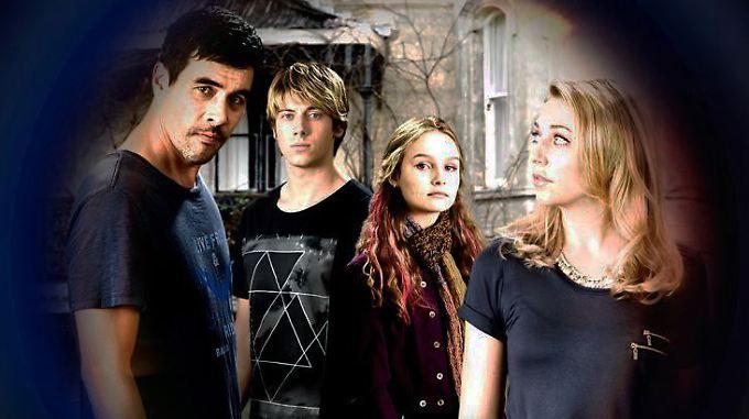Troy, Mitchell, Shaneen und Maree (v.l.) lassen ihr altes Leben hinter sich. Im Zeugenschutz bekommen sie neue Identitäten.