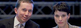 Petry attackiert Lucke: Die AfD zerlegt sich auf offener Bühne