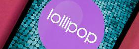 Lollipop-Updates gibt es nur für Privilegierte.