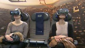 """n-tv Ratgeber: Smartphone wird zur """"Virtual Reality-Brille"""""""