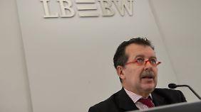 LBBW-Chef Hans-Jörg Vetter warnt eindringlich vor dem Knall.