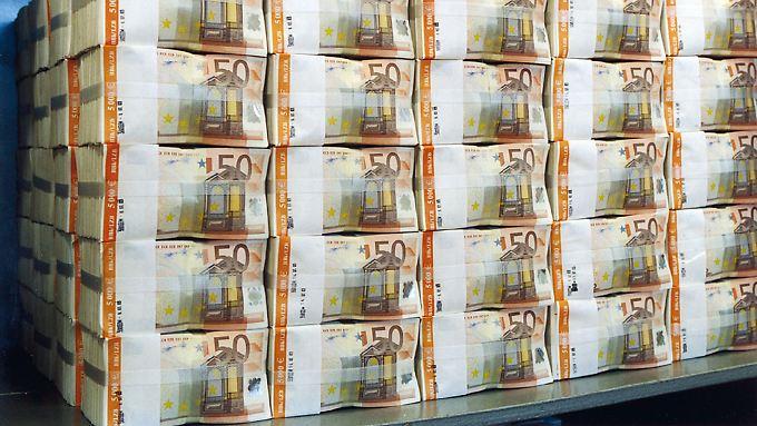 Für monatlich 60 Milliarden Euro will die EZB Anleihen aufkaufen.