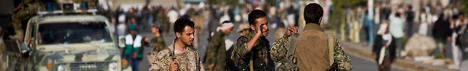 Seit die schiitische Huthi-Miliz große Teile des Landes erobert hat, versinkt der Jemen immer mehr im Chaos.