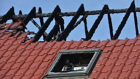 Brandstiftung in Tröglitz: Unbekannte legen Feuer in Flüchtlingsheim