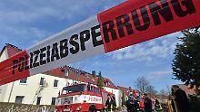 Abgebranntes Flüchtlingsheim: Spurensicherung in Tröglitz abgeschlossen