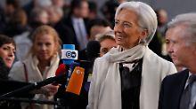 Christine Lagarde kann ganz schön unangenehm werden.