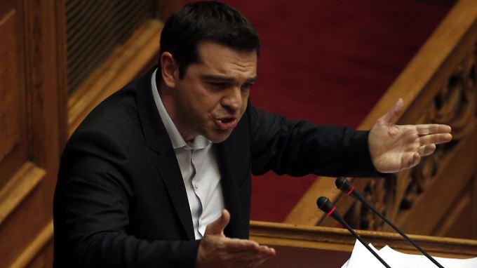 Unter Druck: Griechenlands Ministerpräsident Alexis Tsipras.