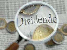 Mit Fonds kann man gezielt an den Dividendenausschüttungen von Unternehmen partizipieren.