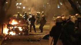 Krawalle in Athen: Tsipras sorgt nicht nur in der EU für Unmut