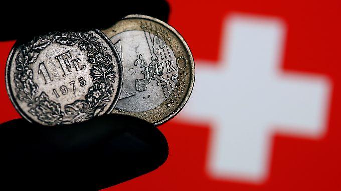 Die Abkehr vom Mindestkurs im Januar hatte zu einer schockartigen Aufwertung des Franken geführt.