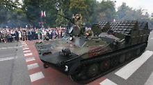 Militärausgaben steigen stark: Osteuropäische Staaten rüsten massiv auf
