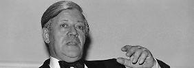 Von 1974 bis 1982 regierte Helmut Schmidt die Bundesrepublik. Er ist damit der bislang am längsten amtierende SPD-Kanzler.