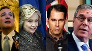 Es kann nur eine(n) geben: Diese US-Politiker kämpfen ums Weiße Haus
