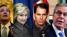 Es kann nur eine(n) eben: Diese US-Politiker kämpfen ums Weiße Haus