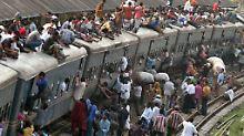 Aufregung in Bangladesch: Führerloser Zug fährt 27 Kilometer rückwärts