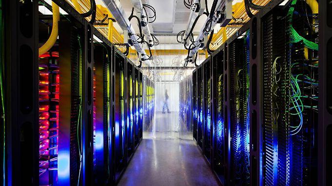 Google-Rechenzentrum im US_Bundesstaat Iowa.