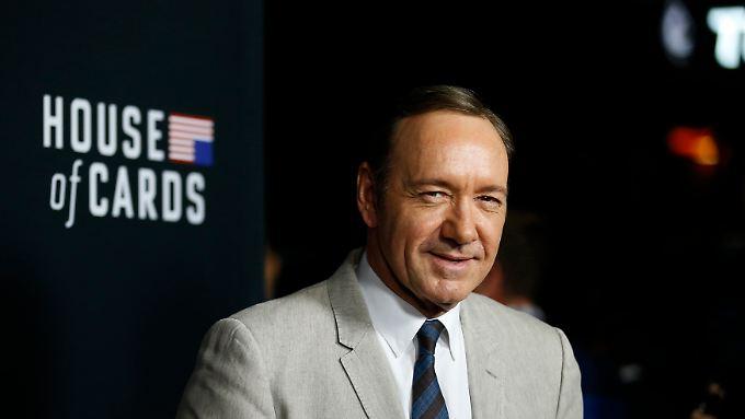 """Spielt in """"House of Cards"""" einen machtgierigen """"Pragmatiker"""", der es schließlich bis ins Präsidentenamt schafft: Netflix-Star Kevin Spacey."""