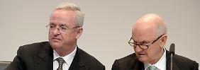 Kein Traumduo mehr: Martin Winterkorn und Ferdinand Piëch.