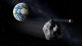 Katastrophenschutz im Weltall: Esa und Nasa schießen Asteroid aus Umlaufbahn