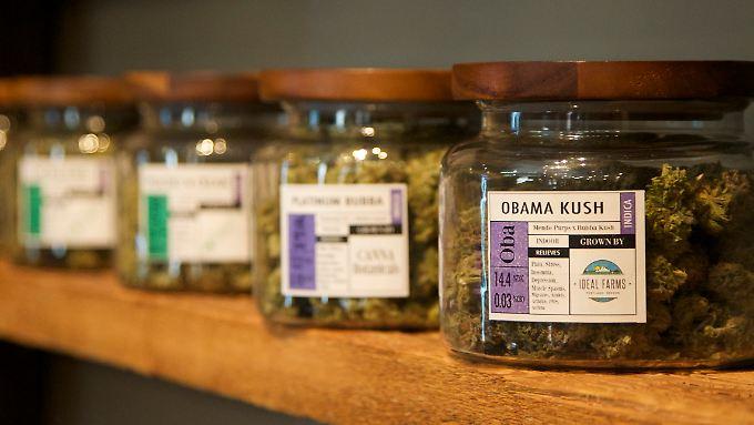 Marihuanaverkauf in den USA.