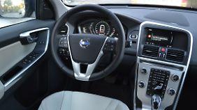 Schlicht und dennoch elegant ist das Innenleben des Volvo XC60.