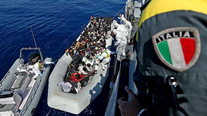 Italien ist für viele Flüchtlinge ein sicherer Hafen.