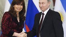 Argentinien und Russland flirten: Putin findet neue Freundin am Ende der Welt