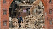 Erdbebenkatastrophe in Nepal: Viele Tote, Lage unübersichtlich