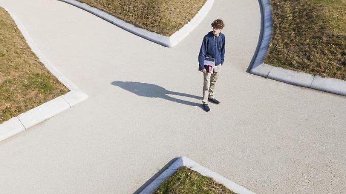 Für viele Schüler ist die Berufswahl die schwierigste Entscheidung, die sie je getroffen haben.