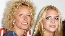 Katja Riemann (hier mit ihrer TochterPaula) hat den Ruf, ...