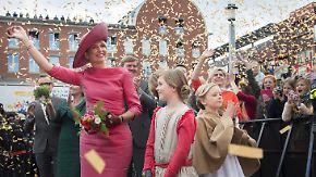 """Riesige Party zum """"Königstag"""": Niederlande feiern Geburtstagskind Willem-Alexander"""
