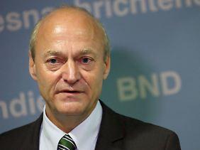 BND-Chef Gerhard Schindler, zentrale Figur in der Spähaffäre