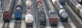 Der Güterverkehr wird massiv beeinträchtigt.