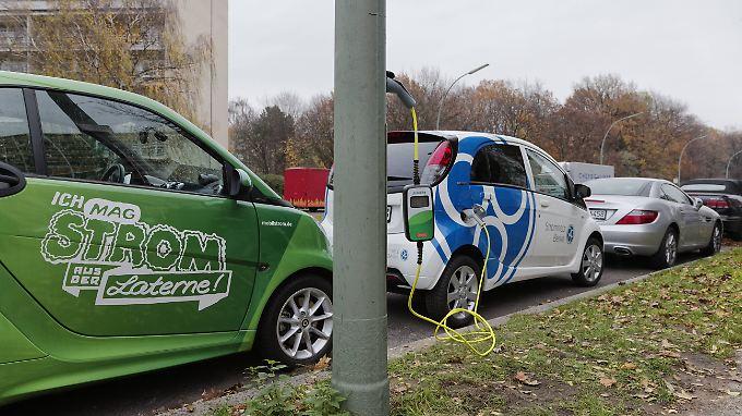 Politik soll neue Anreize setzen: Elektroauto-Absatz geht nur schleppend voran