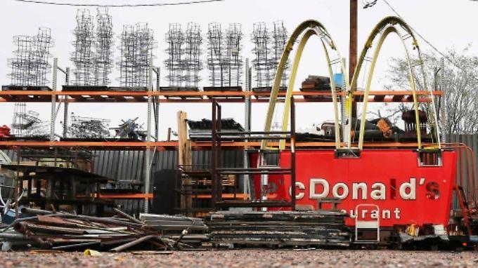 Dem Fastfoodriesen McDonald's steht ein Konzernumbau bevor.