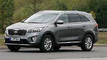 Benzinduft ausgeschlossen: Den Sorento gibt es in Deutschland nur mit Dieselmotor.