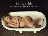 Schwanger und nackt für PETA: Marisa Miller zieht sich für Orcas aus
