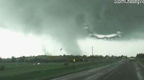 Oklahoma City verwüstet: Tornados wüten im Mittleren Westen der USA