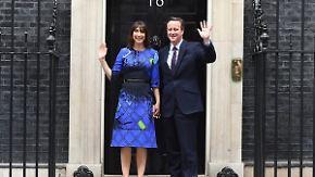 Absolute Mehrheit für Tories: Cameron bleibt in der Downing Street