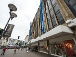 Von der Schließung betroffen: Warenhaus in Recklinghausen.