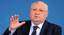 """Michail Gorbatschow wurde als """"Mineralsekretär"""" verspottet."""