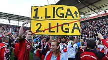 2. Liga: Platz 1 und 18 stehen fest: FC Ingolstadt steigt auf, Aalen ab