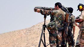 IS-Führer von US-Soldaten getötet: Regierungstruppen verdrängen Dschihadisten aus Palmyra
