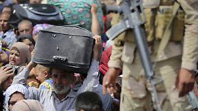 Mindestens 600 Tote bei Kämpfen: 25.000 Menschen fliehen vor IS aus Ramadi