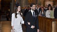 Nun ist es soweit: Prinz Carl-Philip von Schweden ehelicht seine langjährige Freundin Sofia Hellqvist.
