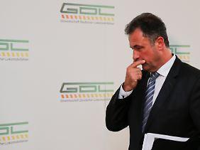 400 Millionen Euro verbrannt? GDL-Chef Claus Weselsky spricht über die Streikkosten (Archivbild).