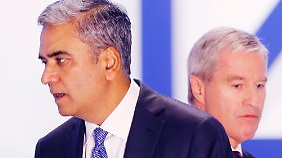 Misstrauen auf Hauptversammlung: Aktionäre zeigen Jain und Fitschen Gelbe Karte