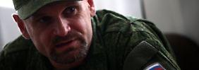 Tödliche Falle in der Ostukraine: Separatistenchef gerät in Hinterhalt